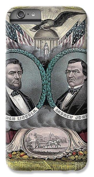 Lincoln Johnson Campaign Poster IPhone 6 Plus Case