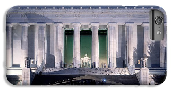 Lincoln Memorial iPhone 6 Plus Case - Lincoln Memorial At Dusk, Washington by Panoramic Images