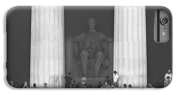 Lincoln Memorial - Washington Dc IPhone 6 Plus Case by Mike McGlothlen