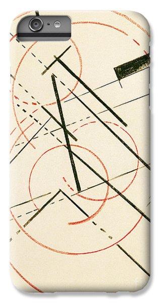 Linear Composition IPhone 6 Plus Case