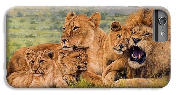 Lion Family IPhone 6 Plus Case