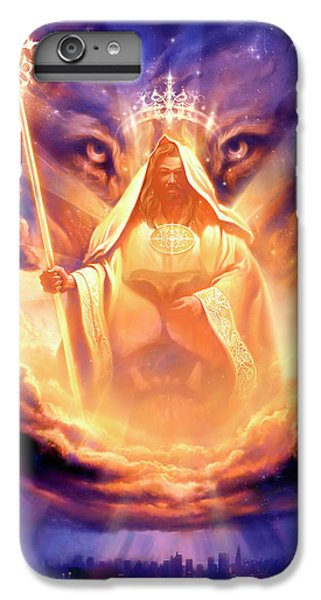 Lion iPhone 6 Plus Case - Lion Of Judah by Jeff Haynie