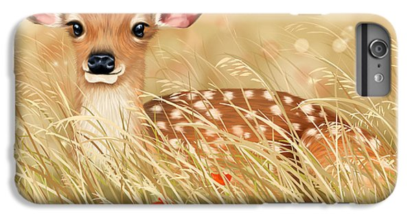 Little Fawn IPhone 6 Plus Case by Veronica Minozzi