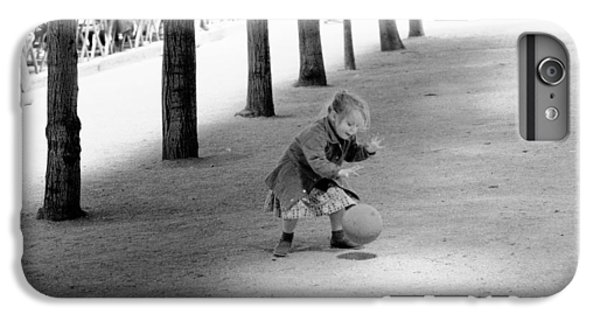 Little Girl With Ball Paris IPhone 6 Plus Case by Dave Beckerman