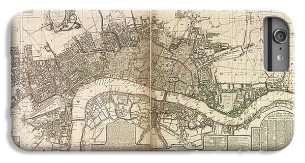 Tower Of London iPhone 6 Plus Case - London And Westminster by British Library