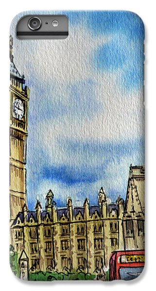 London England Big Ben IPhone 6 Plus Case