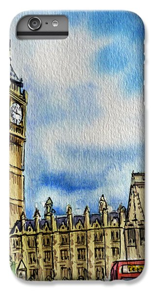 London England Big Ben IPhone 6 Plus Case by Irina Sztukowski