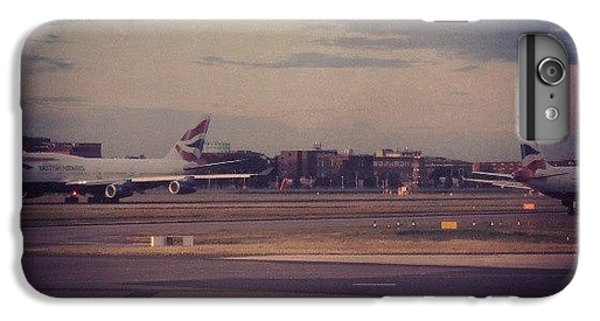 London iPhone 6 Plus Case - #london #heathrow #britishairways by Abdelrahman Alawwad