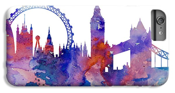 London IPhone 6 Plus Case by Watercolor Girl