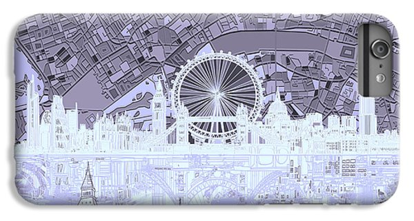 London Skyline Abstract 10 IPhone 6 Plus Case