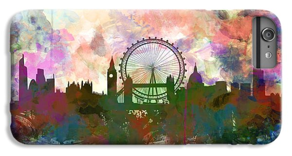 London Skyline Watercolor IPhone 6 Plus Case