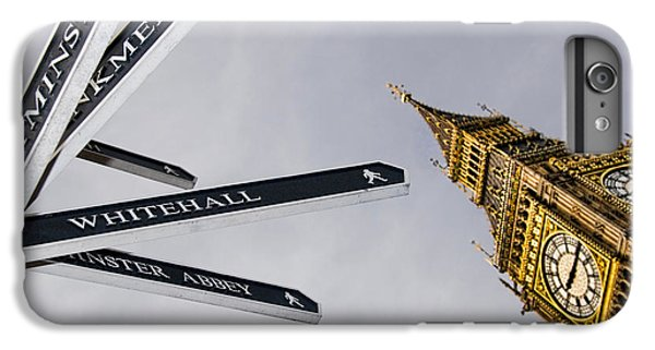London Street Signs IPhone 6 Plus Case by David Smith