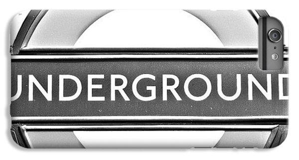 Beautiful iPhone 6 Plus Case - #london #tube #underground by Georgia Fowler