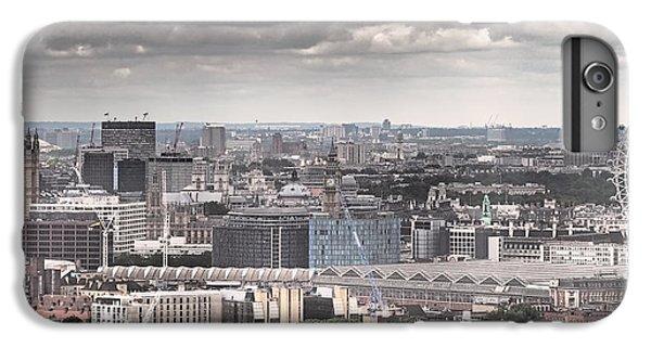 London iPhone 6 Plus Case - London Under Grey Skies by Rona Black