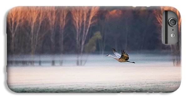 Crane iPhone 6 Plus Case - Lonely Flyer by Jane Luo
