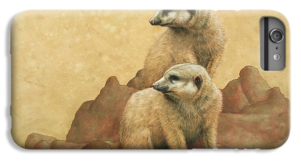 Lookouts IPhone 6 Plus Case by James W Johnson