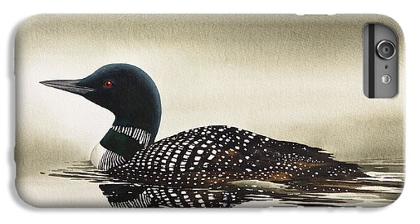 Loon In Still Waters IPhone 6 Plus Case by James Williamson