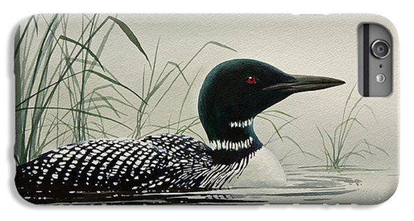 Loon iPhone 6 Plus Case - Loon Near The Shore by James Williamson