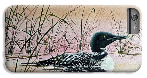 Loon iPhone 6 Plus Case - Loon Sunset by James Williamson