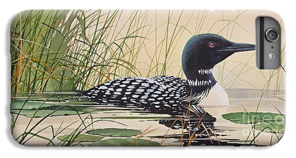 Loon iPhone 6 Plus Case - Loon's Tranquil Shore by James Williamson