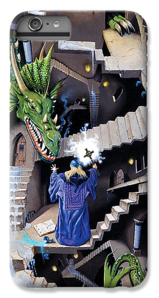 Lord Of The Dragons IPhone 6 Plus Case by Irvine Peacock