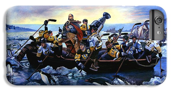 Lord Stanley And The Penguins Crossing The Allegheny IPhone 6 Plus Case