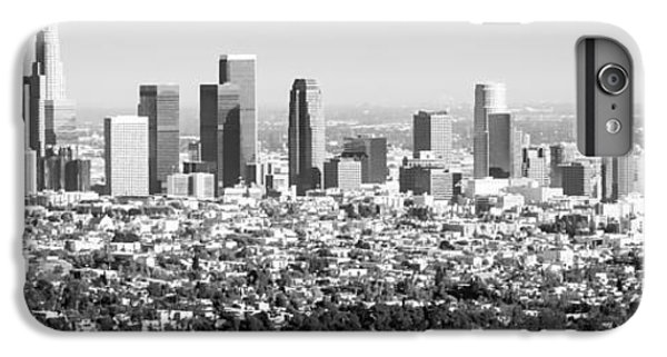 Los Angeles Skyline Panorama Photo IPhone 6 Plus Case by Paul Velgos