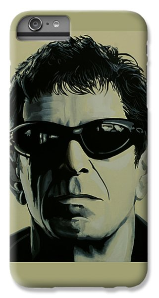 Rock And Roll iPhone 6 Plus Case - Lou Reed Painting by Paul Meijering
