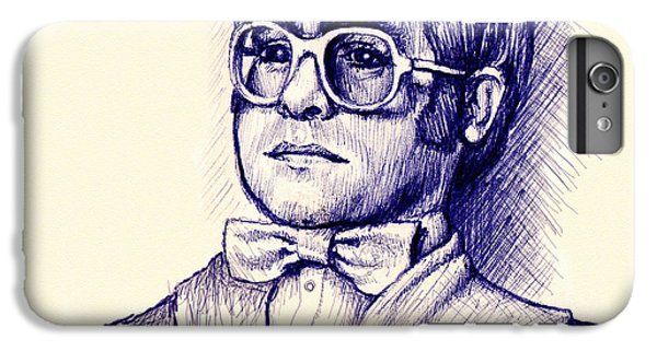Elton John iPhone 6 Plus Case - Love Lies Bleeding by Cristophers Dream Artistry