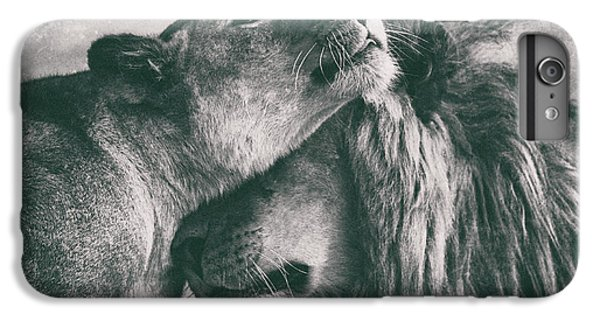 Lion iPhone 6 Plus Case - Love by Mohammed Alnaser