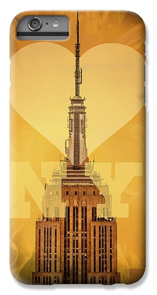 Love New York IPhone 6 Plus Case by Az Jackson