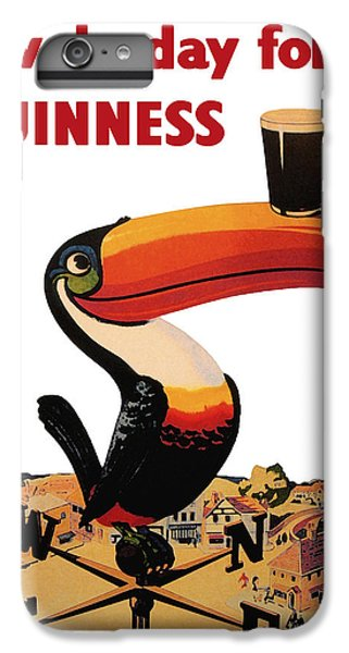Toucan iPhone 6 Plus Case - Lovely Day For A Guinness by Georgia Fowler