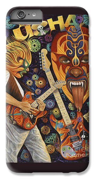 Lucha Rock IPhone 6 Plus Case by Ricardo Chavez-Mendez