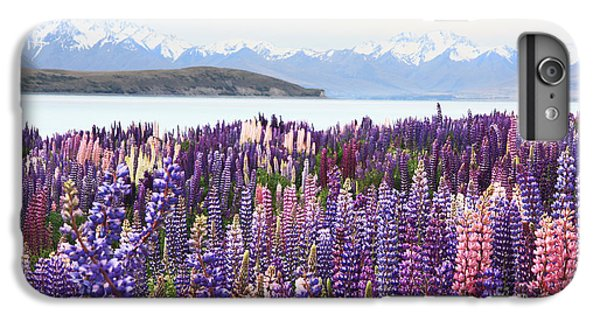 Lupins At Tekapo IPhone 6 Plus Case by Nareeta Martin