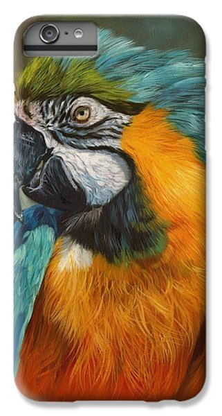 Macaw iPhone 6 Plus Case - Macaw Parrot by David Stribbling