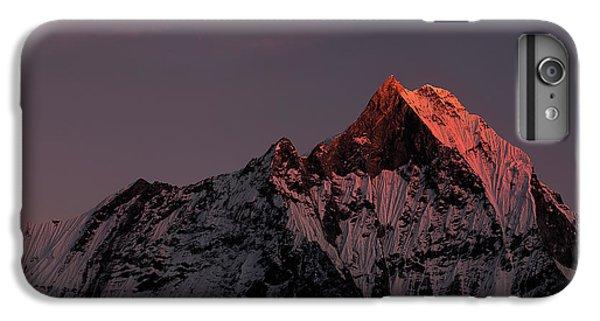 Mountain Sunset iPhone 6 Plus Case - Machhapuchhare. Machapuchare by Richard Le Manz