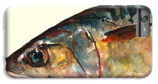 Mackerel Fish IPhone 6 Plus Case by Juan  Bosco