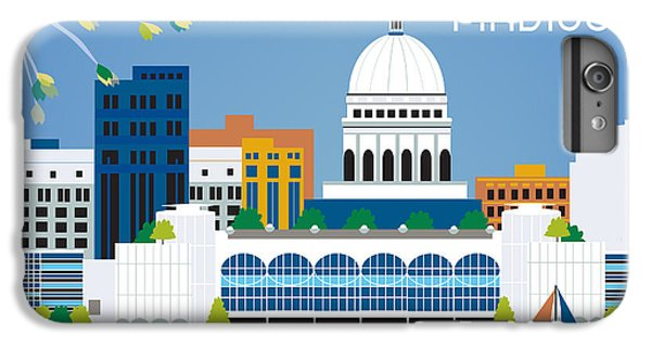 Madison IPhone 6 Plus Case by Karen Young