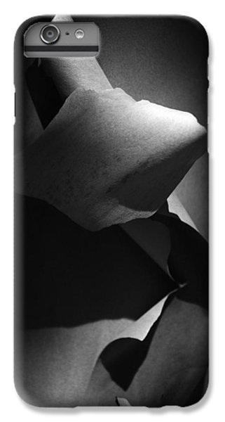 IPhone 6 Plus Case featuring the photograph Madrona Bark Black And White by Yulia Kazansky