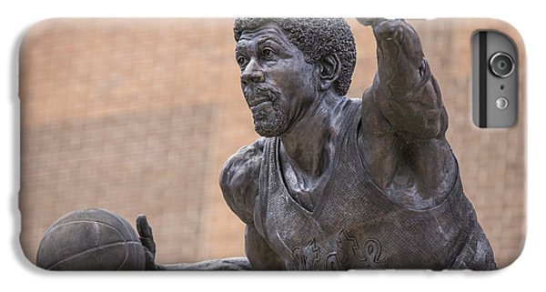 Magic Johnson Statue  IPhone 6 Plus Case