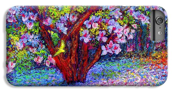 Magnolia Melody IPhone 6 Plus Case by Jane Small