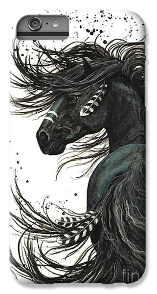 Majestic Spirit Horse 65 IPhone 6 Plus Case by AmyLyn Bihrle