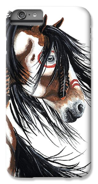 Horse iPhone 6 Plus Case - Majestic Pinto Horse by AmyLyn Bihrle