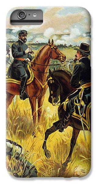Major General George Meade At The Battle Of Gettysburg IPhone 6 Plus Case by Henry Alexander Ogden