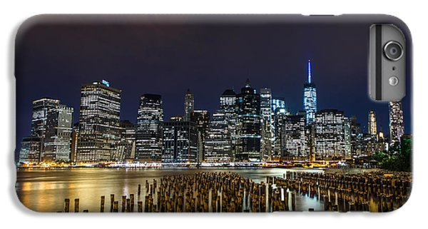Manhattan Skyline - New York - Usa IPhone 6 Plus Case by Larry Marshall