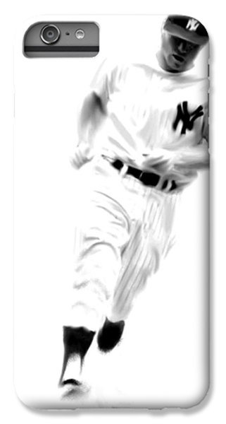 Mantles Gate  Mickey Mantle IPhone 6 Plus Case by Iconic Images Art Gallery David Pucciarelli