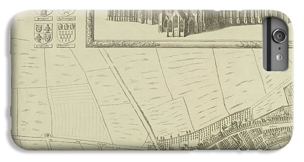 Map Of Westminster In The City Of London IPhone 6 Plus Case by British Library