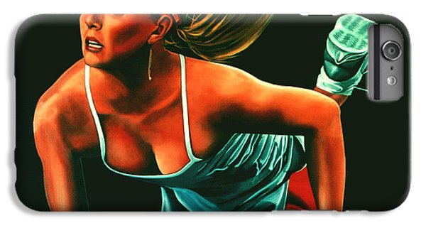 Maria Sharapova  IPhone 6 Plus Case by Paul Meijering