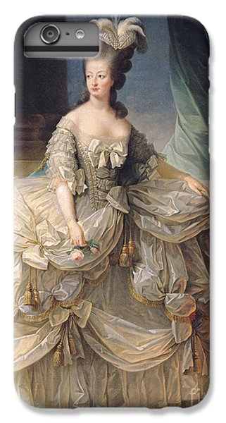 Marie Antoinette Queen Of France IPhone 6 Plus Case by Elisabeth Louise Vigee-Lebrun