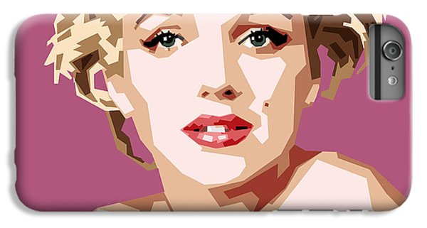 Marilyn IPhone 6 Plus Case by Douglas Simonson